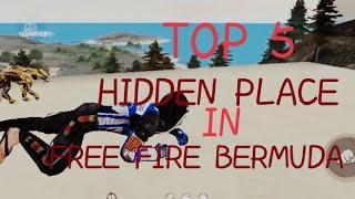 TOP 5 HIDDEN PLACE IN FREE FIRE    OLD BERMUDA MAP    CAMPER SPACIAL VIDEO    GRANDMASTER RANK   