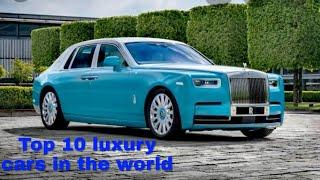 Top 10 luxury cars in the world | price, power and speed |