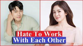 Top 10 K-Drama Stars Who Never Want to Work Together Again | Song Hye Kyo | Lee Min Ho