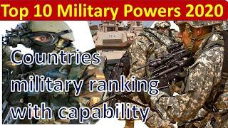 Top 10 military powers in the world 2020 |  powerful military in the World | English with subtitles