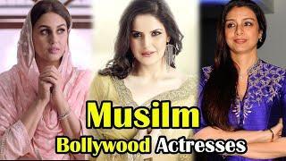 Top 10 Muslim Bollywood Actress 2017 ।।  Beautiful Muslim Bollywood Actresses