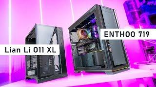 The BEST Full Tower Cases - O11 XL vs Enthoo 719 (Luxe 2)