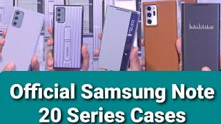 Official Original Samsung Galaxy Note 20 Ultra Cases, Note 20 5G Cases (Best Note 20 Cases)
