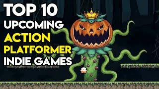 Top 10 New Upcoming Action Platformer Indie Games on Steam (2020)