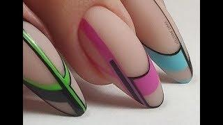 TOP 10 Nail Art Designs Tutorial   DIY Nail art ideas