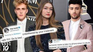 Top 10 Celebrities Who Clapped Back