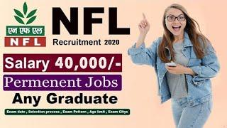 NFL Recruitment 2020 Complete Details Latest govt jobs in telugu Employment news 2020 in telugu