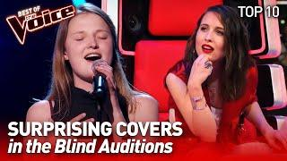 TOP 10 | More SURPRISING COVERS in The Voice