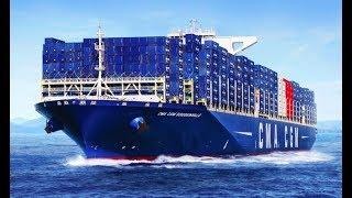 Top 10 World Largest Container Ships! Ships In Rogue Storm