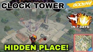 Top 10 Hidden Places in Clock Tower | Secret Hide Place | Tips and Tricks | The Legend