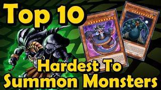 Top 10 Hardest to Summon Monsters in YuGiOh