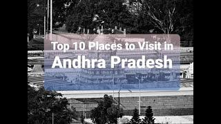 TOP 10 PLACES TO VISIT IN ANDHRA PRADESH | #ANDHRAPRADESH #TOP10 #PLACE'S
