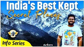 Top 15 secret places of India || Information series || Telugutravelvlogs || Telugutravelvlogger