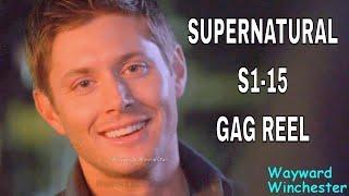Supernatural Season 1 - 15 FULL GAG REEL Supercut | Funniest Supernatural Bloopers Behind The Scenes