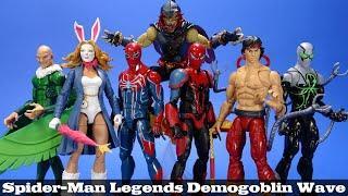 Marvel Legends Spider Man Demogoblin Wave Hasbro Doc Ock White Rabbit PS4 Vulture Shang Chi Review