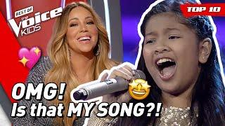 TOP 10 | Stunning MARIAH CAREY songs covered in The Voice Kids!