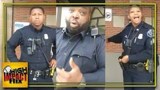 3 Ultra-Ignorant Detroit Cops Harass the WRONG Guy & It Doesn't End Well!