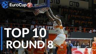 7DAYS EuroCup 7DAYS EuroCup Regular Season Round 8 Top 10 Plays