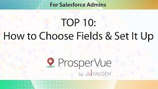 TOP 10: How to Choose Fields and Set It Up