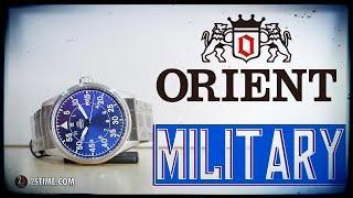ORIENT Automatic Military RA-AC0H01L10B - Best Field Watch Under 200$