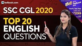 English Express | Top 20 English Questions for SSC CGL Tier 1 Exam | Pratibha Ma'am