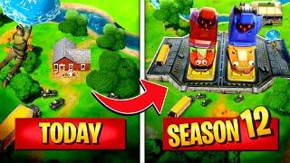 *NEW* Top 5 Fortnite SEASON 12 LOCATIONS That Are Getting MASSIVE UPDATES! (Battle Royale)