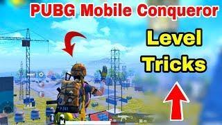 PUBG Mobile Top Conqueror Level Tricks | PUBG Mobile Conqueror Tips and Tricks