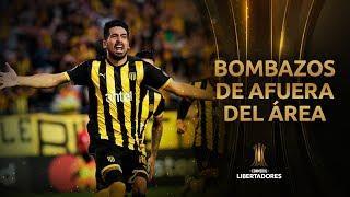 Top 10   Los mejores GOLES DE AFUERA DEL ÁREA   Libertadores 2019