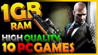 Top 10 Games for 1GB RAM | High-Quality PC Games You Can Play With 1GB RAM | Low Graphics Card