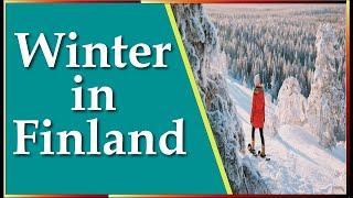 ফিনল্যান্ডে শীত কালীন প্রাকৃতিক সৌন্দর্য//winter in Finland 2020//By Bangladeshi Students