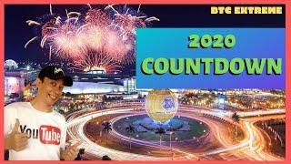 SM Mall of Asia 2020 Countdown New Year Fireworks Show