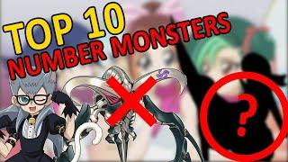 THE TOP 10 NUMBER XYZ MONSTERS IN YUGIOH