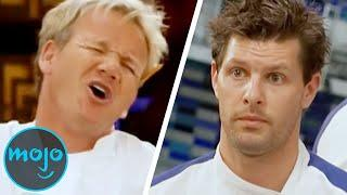 Top 10 Most Confrontational Hell's Kitchen Moments