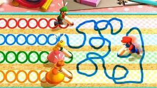 Mario Party The Top 100 MiniGames - Mario Vs Luigi Vs Peach Vs Daisy (Very Hard Difficulty)