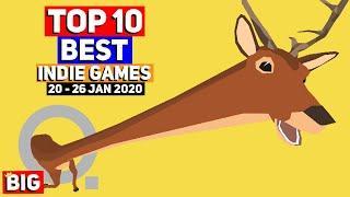 Top 10 BEST NEW Indie Game Releases: 20 - 26 Jan 2020 (Upcoming Indie Games)