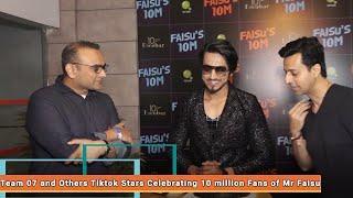 Mr. Faisu 07 10 Million Fans Celebration   Tik-Tok Videos   Top Tik-Tok Star   Jannat Zubair