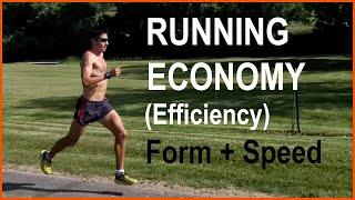 IMPROVE YOUR RUNNING EFFICIENCY (RUNNING ECONOMY) WITH SPEED TRAINING, MILEAGE, AND FORM-TECHNIQUE!