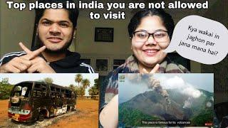 Pakistani Reacts To | Top 10 Places in India you are NOT allowed to Visit By | Pak Siblings Reaction