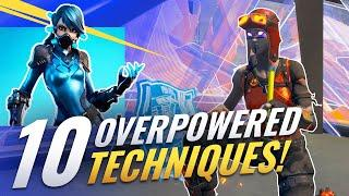 10 GAME-BREAKING Techniques You Probably Forgot About! - Fortnite Tips & Tricks