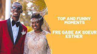 [Top and Funny Moments] Fre Gabe ak Madanm li Soeur Esther part 1