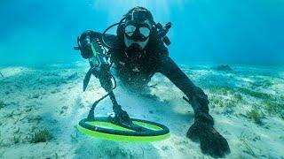 Metal Detecting in the Ocean for Diamond Rings! (Found 3 Rings)