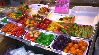 Eat and Review food recipes   TOP 10 Unique Street Food Items To Eat at Wang Lang Market Bangkok