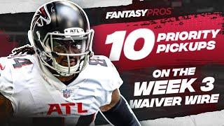 Top 10 Waiver Wire Pickups for Week 3 (2021 Fantasy Football)