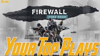 Your Top Plays | Firewall Zero Hour | December 2019 Edition