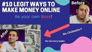 Top 10 legit ways to make money online|Work from Home jobs(2020)