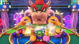 Mario Party 10 - Minigames - Bowser Party - Mario vs Peach vs Daisy vs Wario #03