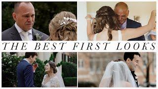 The Best First Looks Will Make You Cry!!! These Father-Daughter and Groom Reactions are PRICELESS!!!