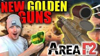 DESTROYING Pro Ranked Players With NEW Golden Guns!! | Area F2