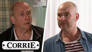 Tim Confronts Geoff Over His Abuse Towards Yasmeen | Coronation Street