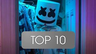Top 10 Most streamed MARSHMELLO Songs (Spotify) (01. May 2020)